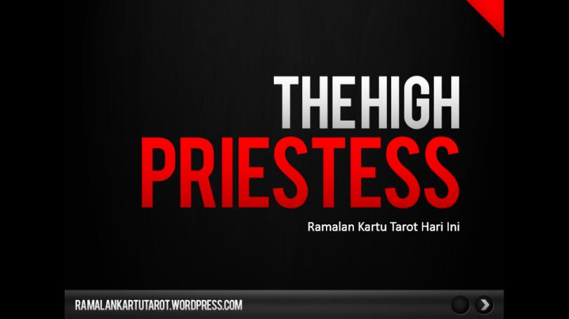 Ramalan Kartu Tarot Hari Ini The High Priestess