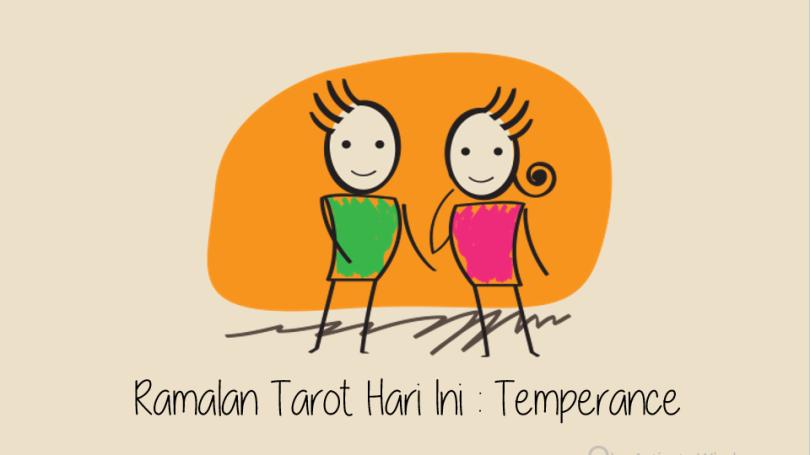 Ramalan Tarot Hari Ini Kartu Temperance